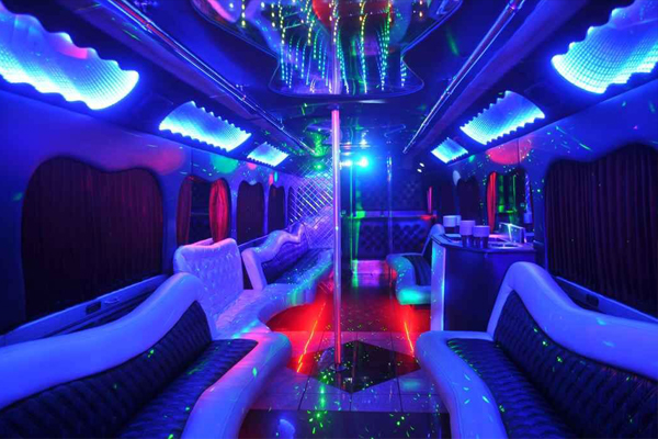 18 person party bus rental Indianapolis