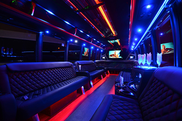 40 passenger party bus rental Indianapolis